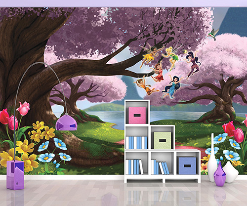 Crockers paint wallpaper wallpaper and murals for Disney world mural