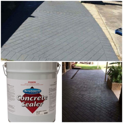 Driveway and Concrete Sealers