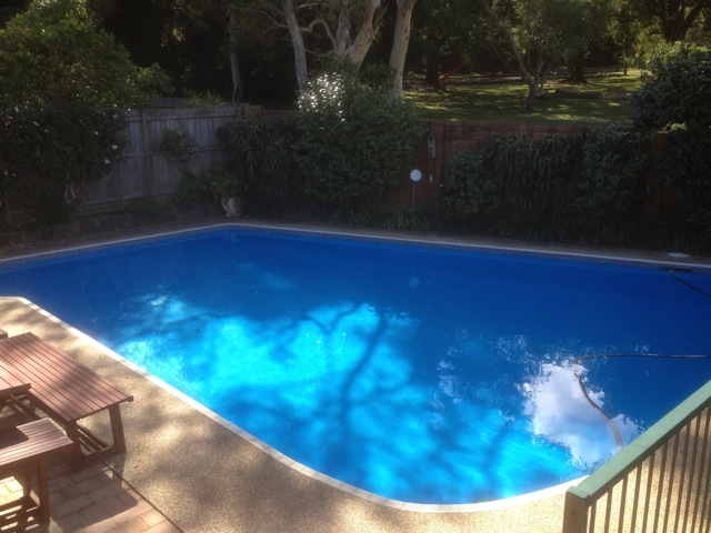 Crockers paint wallpaper paint pool paints cm luxapool epoxy pool paints for Swimming pool resurfacing sydney