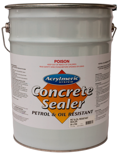 CM Concrete and Driveway Sealer Petrol and Oil Resistant Clear 20lt