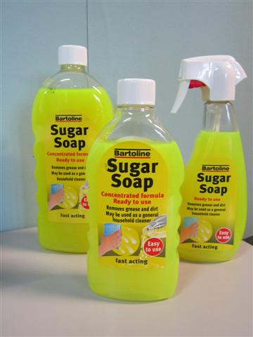 Bartoline Sugar Soap Concentrate 500ml