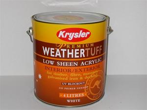 KR Weathertuff Low Sheen Acrylic (10lt-15lt)