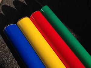 Translucent Coloured  Self Adhesive Sticky Papers