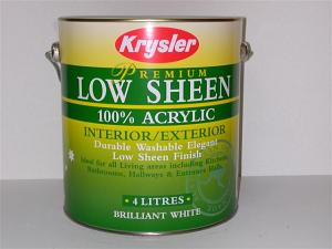 KR Premium Low Sheen Acrylic (10lt-15lt)