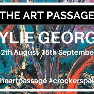 Kylie George Exhibition- Colour the Earth, Leave your Mark