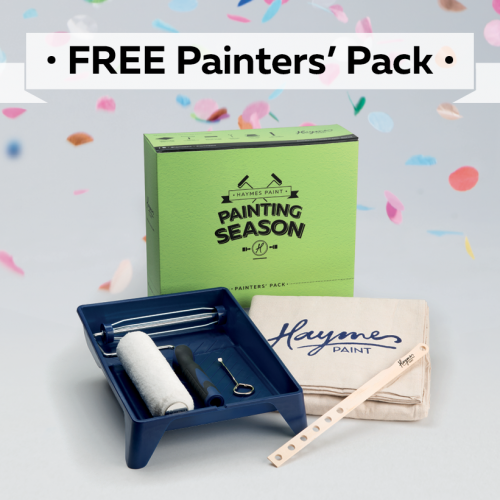 FREE Painters Pack for our Retail DIY customers!