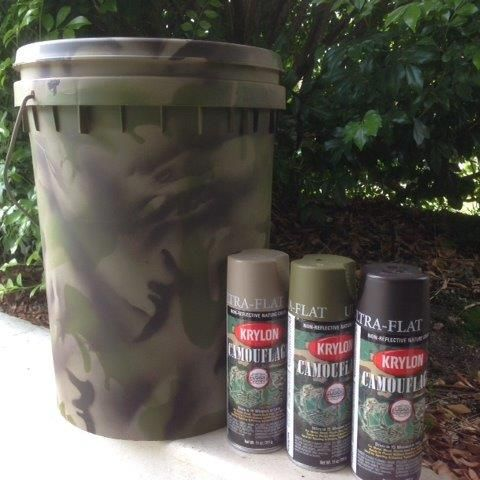Painting Painting Plastic With Krylon Camouflage Fusion For