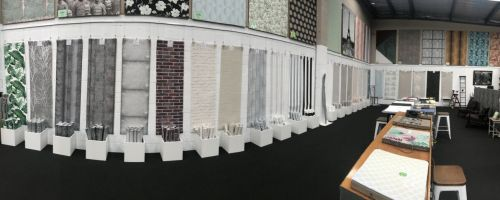 Wallpaper! Our huge showroom is the place to visit.